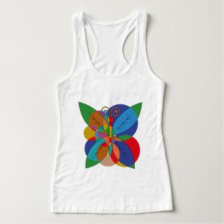 Free butterfly tank top