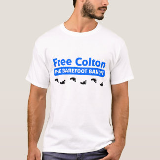 Free Colton - The Barefoot Bandit T-Shirt