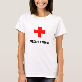 Free CPR Lessons T-Shirt