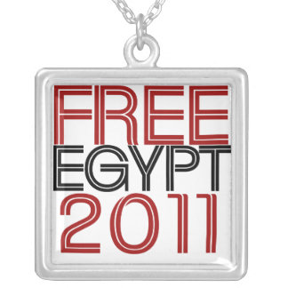Free Egypt Silver Plated Necklace