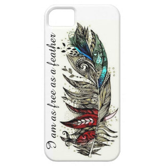 Free Feather iPhone 5 Cases