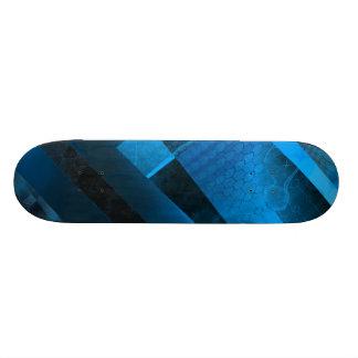 Free Floating (blue) Custom Skate Board