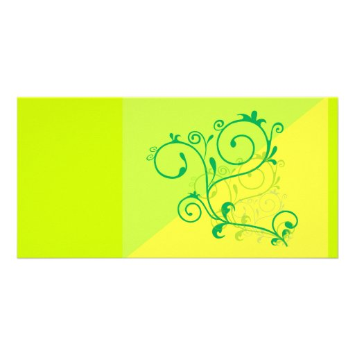 Free-Floral-Graphics.jpg Lemon Lime digital swirls Photo Card Template