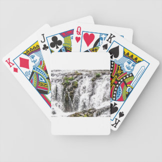 free flowing falls bicycle playing cards
