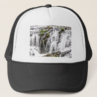 free flowing falls trucker hat