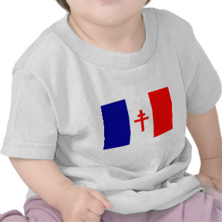 Free French Forces Flag Shirts
