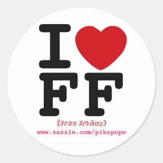Free Friday Sticker