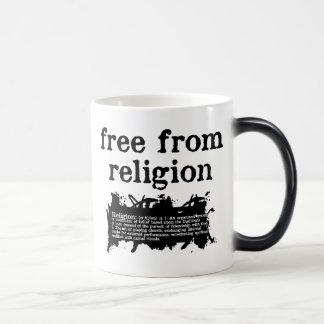 Free from Religion Heat-Changing Mug