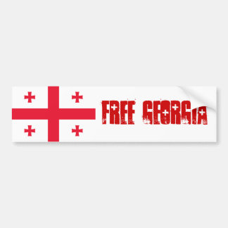 FREE GEORGIA BUMPER STICKER