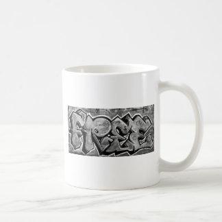 Free Graffiti Basic White Mug