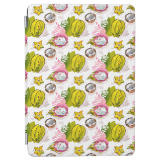 Free Hand Textured Fruit Pattern iPad Air Cover