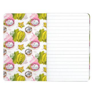 Free Hand Textured Fruit Pattern Journal