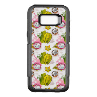 Free Hand Textured Fruit Pattern OtterBox Commuter Samsung Galaxy S8+ Case