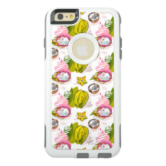 Free Hand Textured Fruit Pattern OtterBox iPhone 6/6s Plus Case