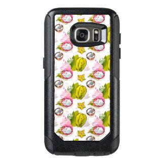 Free Hand Textured Fruit Pattern OtterBox Samsung Galaxy S7 Case