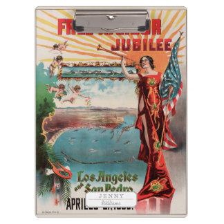Free Harbor Jubilee, Los Angeles and San Pedro. Clipboard