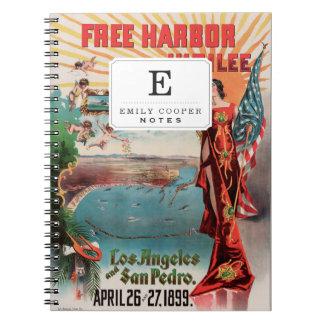 Free Harbor Jubilee, Los Angeles and San Pedro. Notebooks