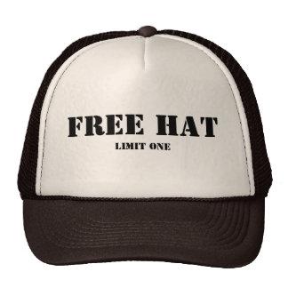 Free Hat, Limit One