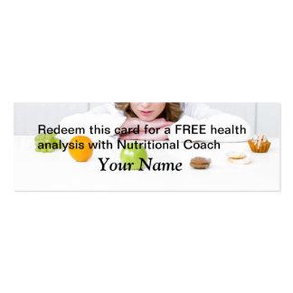 FREE Health Analysis Mini Business Card