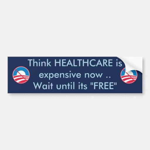 Free HEALTHCARE Car Bumper Sticker