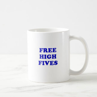 Free High Fives Coffee Mug