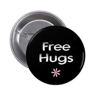 Free Hugs 2 Inch Round Button