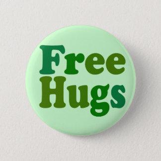 Free Hugs 2 Inch Round Button