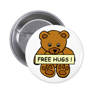 Free Hugs button