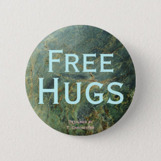 Free Hugs by T. Chronister 2 Inch Round Button