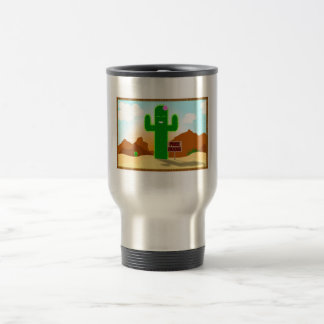 Free Hugs Cactus Travel Mug