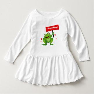 free hugs cute frog dress