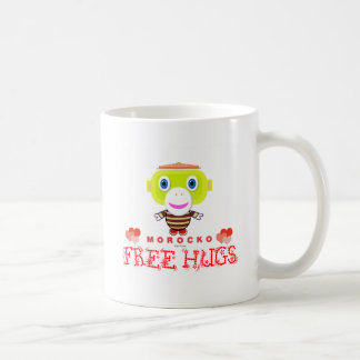 Free Hugs-Cute Monkey-Morocko Coffee Mug