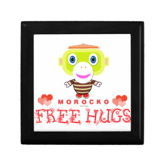 Free Hugs-Cute Monkey-Morocko Gift Box