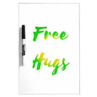 free hugs Dry-Erase whiteboards