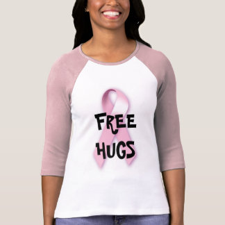 Free Hugs for Breast Cancer T-Shirt