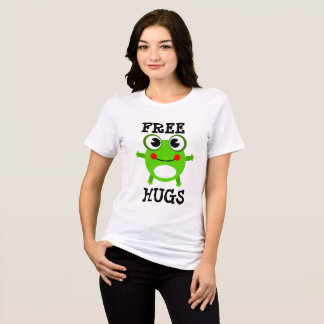 Free Hugs Funny Cute Frog Shirt