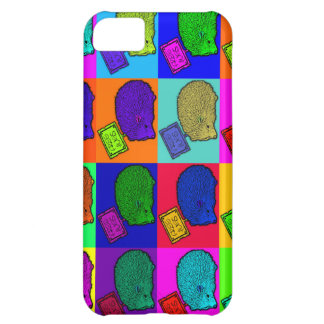 Free Hugs Hedgehog Colorful Pop Art Popart Cover For iPhone 5C