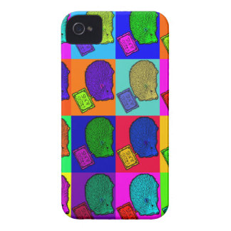 Free Hugs Hedgehog Colorful Pop Art Popart iPhone 4 Case