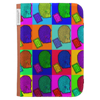 Free Hugs Hedgehog Colorful Pop Art Popart Cases For The Kindle