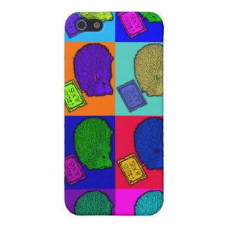 Free Hugs Hedgehog Colorful Pop Art Popart iPhone 5 Case