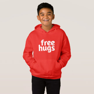 Free Hugs Kids' Pullover Hoodies