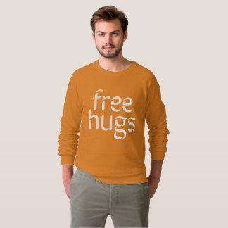 Free Hugs Men's American Apparel Raglan Sweatshirt