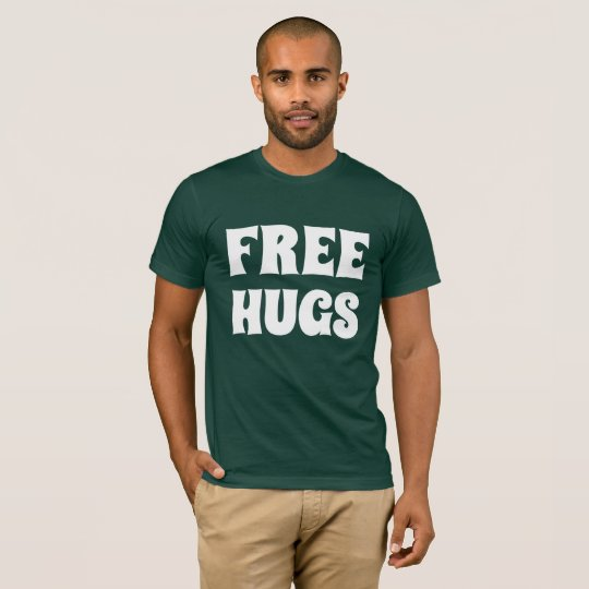 Free Hugs Men's Basic American Apparel T-Shirt