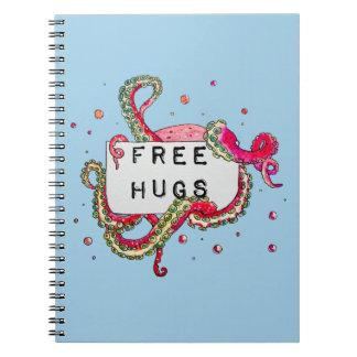free hugs notebook