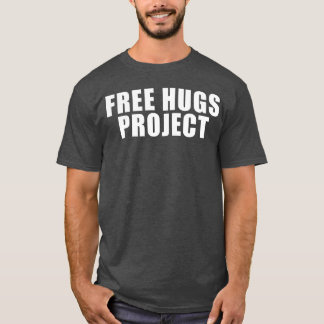 Free Hugs Project Text Tee