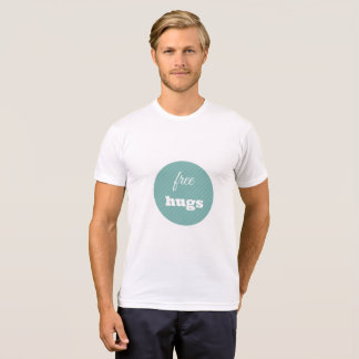 Free Hugs t shirt for men