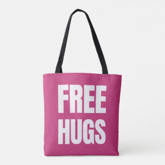 Free Hugs Tote Bags