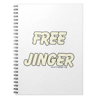 Free Jinger 2 Note Books