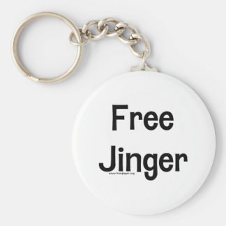 Free Jinger Basic Round Button Keychain