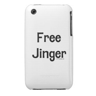 Free Jinger Case-Mate iPhone 3 Case